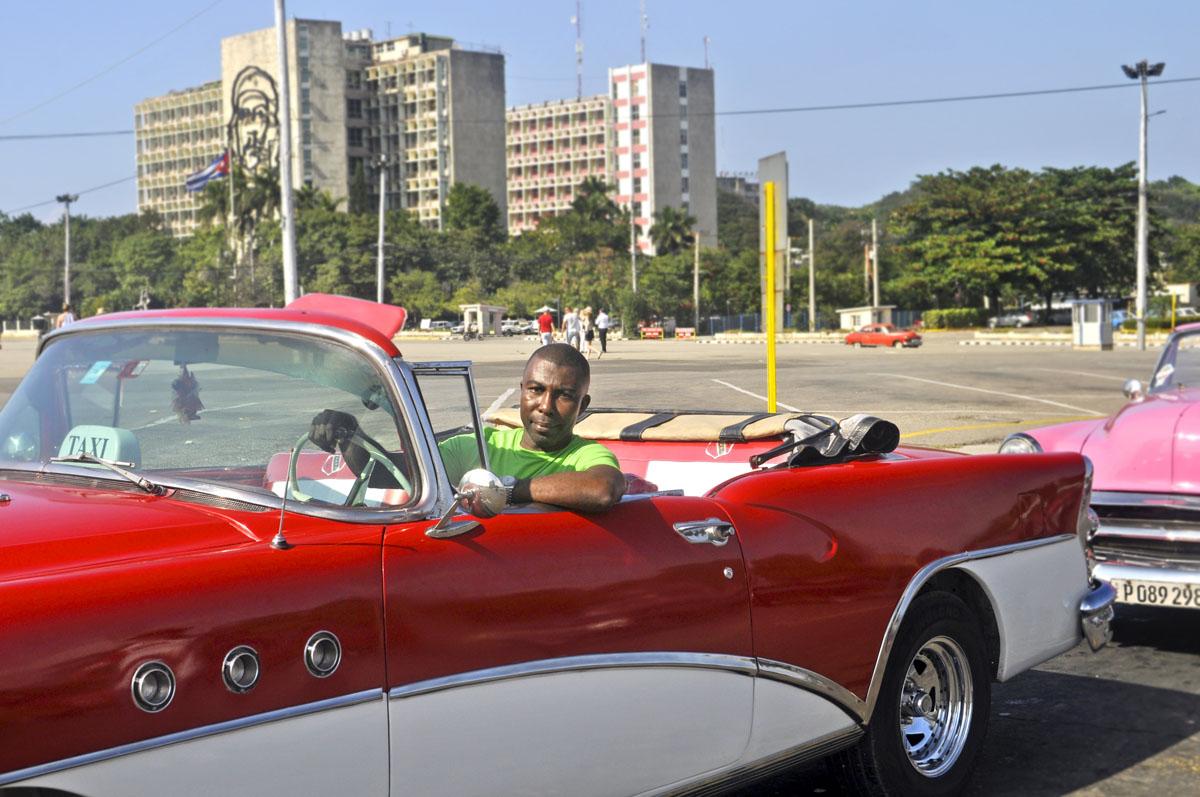 Classic car in Havana, Cuba